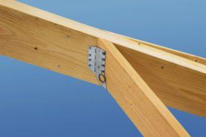 Connecteurs pour toitures à cadre en bâton